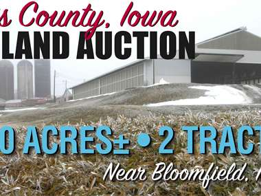 Tract 1 Sold for 4600 Per Acres Tract 2 Sold for $3600 Per Acre, 140